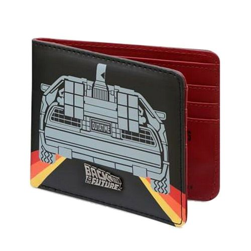 Back To The Future DeLorean Bi-Fold Walle